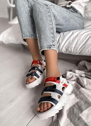 Женские босоножки fila sandal(37-40р)наложенный платеж