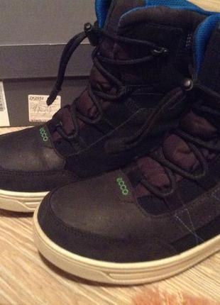 Зимние ботинки гротеск ecco на мальчика 87cf047abefdb