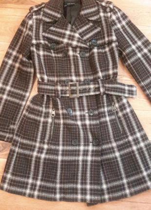 Двубортное классическое пальто