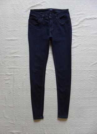 Плотные темно синие джинсы скинни charles vogele, 14 размерa.