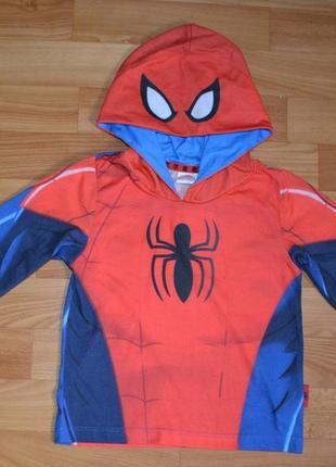 Кофта человек паук на 3-4 года, реглан на мальчика