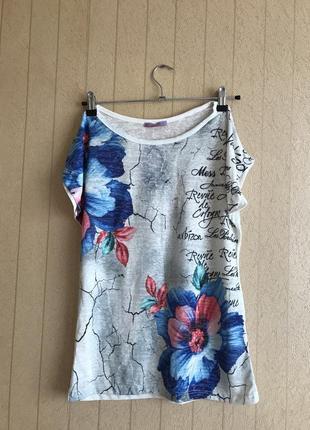 Женская турецкая футболка 46-48 размера