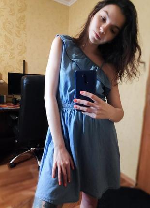Джинсовое платье от denimco