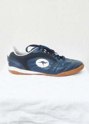 Кожаные дышащие спортивные кроссовки