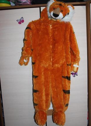 Новогодний костюм , комбинезон , ромпер тигр authentic kids