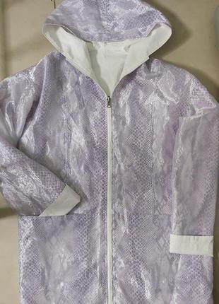 Куртка дождевик-ветровка 48р с фатином