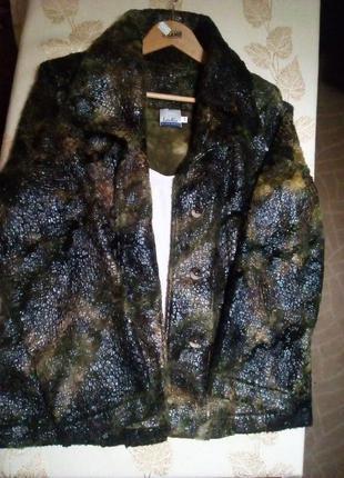 Куртка - жакет.  цікава тканина
