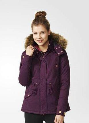 Куртка-парка adidas neo р. s оригинал