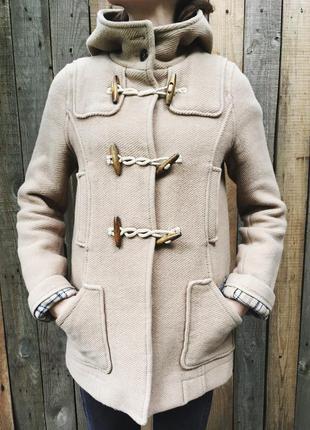 Пальто шерстяное topshop (дафлкот)