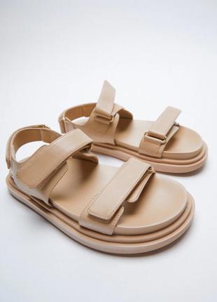 Босоножки сандали zara 37 39