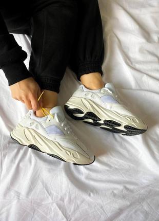 "Женские кроссовки adidas yeezy 700 ""white"""