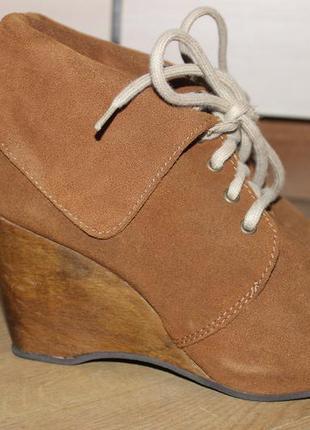 Кожаные ботинки river island1