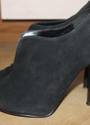 Jasper conran ботильоны , туфли с открытым пальчиком натуральные