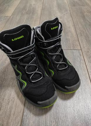 Детские ботинки lowa approach gtx  gore-tex mid junior .