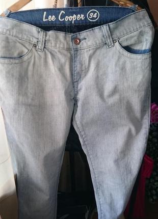 Бойфренды широкие джинсы на бедрах lee cooper