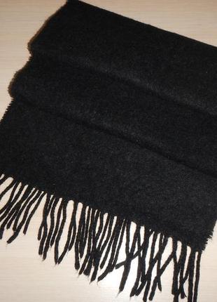 Теплый шерстяной шарф кашне италия, 100% шерсть