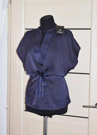 Блузка топ шелк атлас