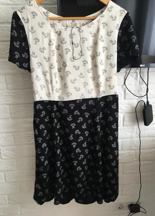 Новое вискозное платье