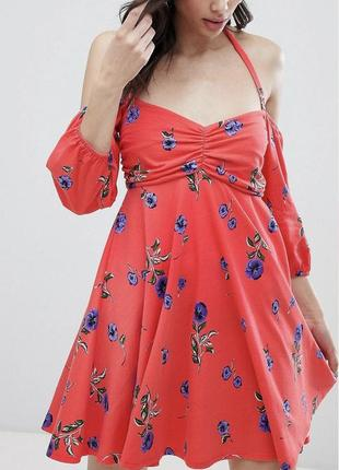 Новое летнее платье с бирками брендовое на завязках