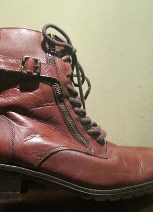 Женские ботинки caprice р. 38. оригинал
