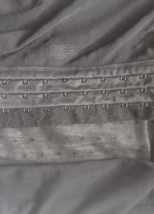 Корсет пояс утяжка горошек в черный h&m5 фото