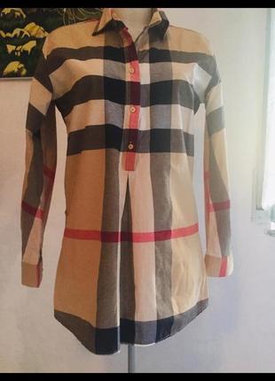 Burberry оригинал рубашка сделано в великобритании
