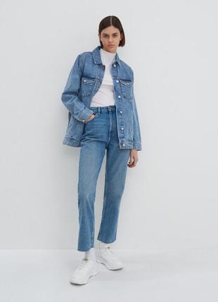 Джинси, джинсы, мом джинс, штани, штаны, прямі, прямые, house