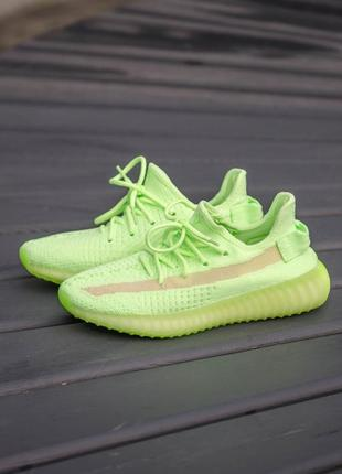 Кроссовки adidas yeezy boost 350 glow in dark
