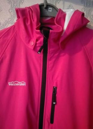 Женская спортивная розовая куртка от weissenstein