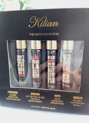 ❣акция!!!❣набор kilian the new collection by kilian my kind of love  set 4 х 7.5 ml духи3 фото