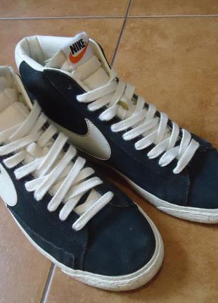 Замшевые ботинки nike blazer (оригинал) 41 р-р