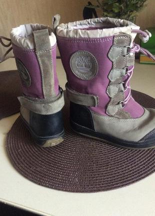 Очень классные теплые сапожки-ботинки