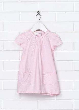 Платье х\б h&m 9-12 м.