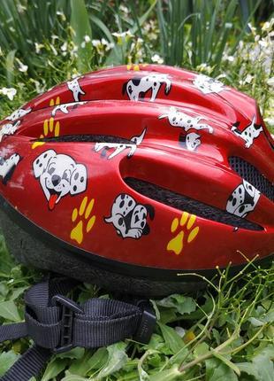 Велосипедный шлем детский gpr veni 52-56 шолом велошлем германия