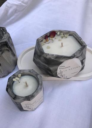 Набір соєвих свічка ручної роботи