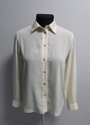 Шелковая рубашка aquascutum