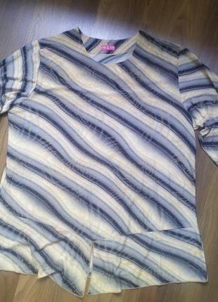 Кофточка с блёсткамиами. блуза 60 размер.