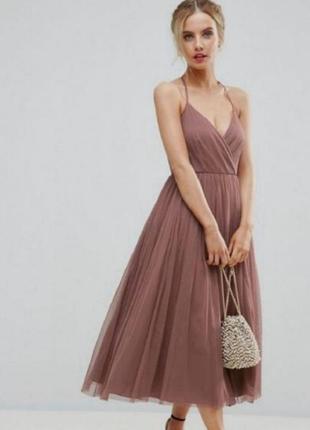 Вечернее выпускное платье asos