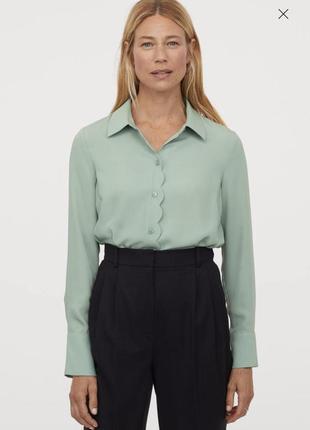 Рубашка блузка h&m m