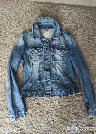 Куртка джинсовая женская s. oliver