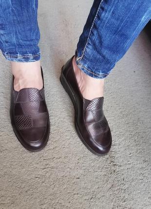 Комфортные туфли германия carina