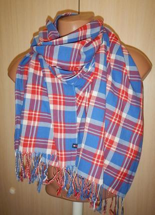 Легкий шарф tommy hilfiger унисекс