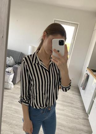 Женская рубашка, рубашка в три четверти stradivarius
