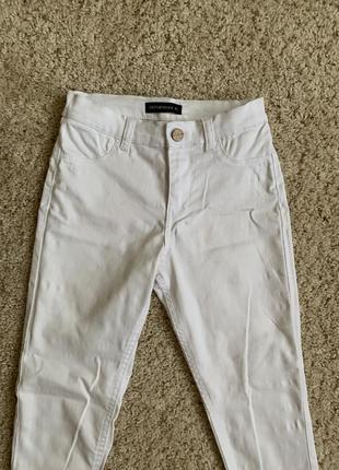 Білі джинси штани белые джинсы штаны брюки скидка знижка sale