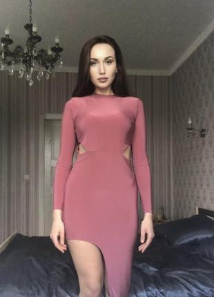 Асимметрия платье