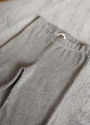 Лосины в клетку/клетчатые леггинсы/весенние - летние брюки/одежда для спорта и дома