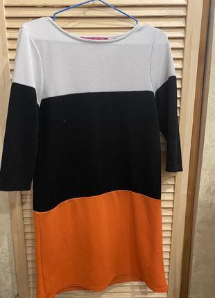 Платье/boohoo/полоски/короткое