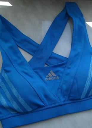 Спортивный бюстгальтер, adidas, р.xs
