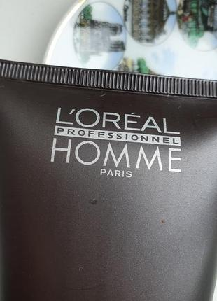 Loreal professionnel homme strong гель для волос2 фото