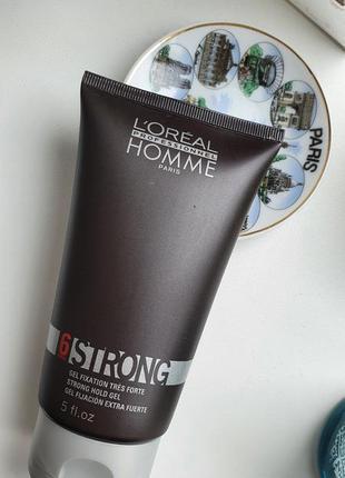 Loreal professionnel homme strong гель для волос